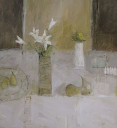 C r e a t i v e W o n d e r: Flowers for the table . . . beautifully fresh still life paintings . . . Salliann Putman . Berkshire . England