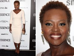 Viola Davis, you look gorgeous! This is nothing new, but please stick by your natural hair from now on -- sooooo flattering!