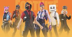 Cyber Ninja, Best Gaming Wallpapers, Kawaii, Epic Games, Fortnite Thumbnail, Battle, Concept, Anime, Ship