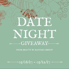 Date night, on us!  — We haven't hosted a giveaway in a while. We want to doll someone up and send them on a date with someone special ❤️  Here's what you'll win:  $Gift card to a local restaurant$  FREE Makeup application at BBHL  25% off a (1) spray tan, wax or lash service  How to enter:  1. Like Beauty by Hannah Lebron's Facebook page.  2. Follow @beautybyhannahlebron on Instagram 3. Tag three of your friends on the Facebook post