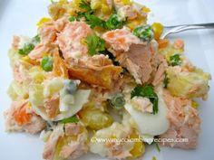 Ensalada de Salmón y Papa (Salmon and Potato Salad)