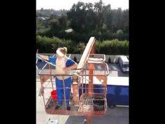 Как я мыла окна на высоте