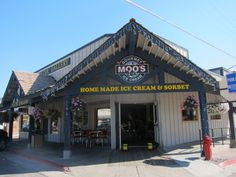 Moo's Ice Cream, Jackson Hole, WY - had the best homemade ice cream EVER
