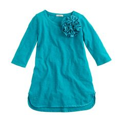 Girls' corsage tunic - Aubrey loves this one!! The girl has good taste!
