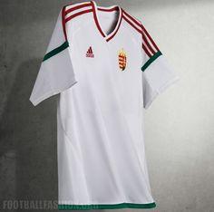 d30cacdb1c Hungary EURO 2016 adidas Home and Away Kits