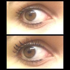 Beautiful thick lashes using Lash Factory's 300X 3D Fiber Mascara - Photo from Valeria