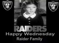 Happy Wednesday Raider Family