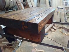 Barn wood living room table