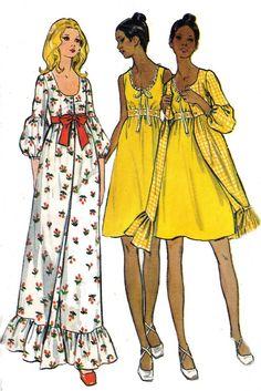 maxi dress 70s style 6556