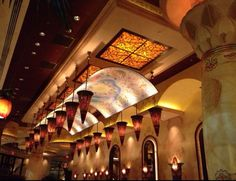 Cheesecake Factory. Beautiful restaurants, excellent cheesecake!