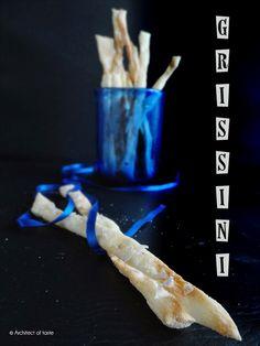 Grissini with salt flakes  Architect of taste: Regali golosi - Grissini con fiocchi di sale