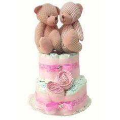 Las tartas de pañales son un regalo idóneo para cualquier bebé