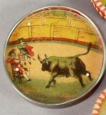 Bull fight dexterity puzzle