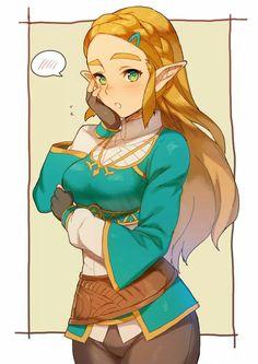 Zelda of zelda breath of the wild