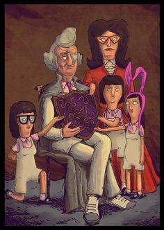 The Belcher Fischodour Family Portrait
