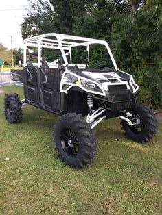 New 2016 Polaris RANGER Crew XP 900-6 EPS Titanium Matte ATVs For Sale in Florida.