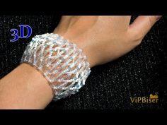 This beautiful, simple and modern bracelet is made with Preciosa SeedBeads Matsuno Bugle Beads and Preciosa FirePolished Beads Perfect f. Beaded Braclets, Beaded Bracelet Patterns, Seed Bead Bracelets, Beading Patterns Free, Beading Tutorials, Bead Jewellery, Beaded Jewelry, Bugle Beads, Bracelet Tutorial