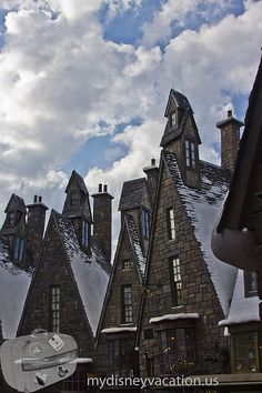Got to love the buildings in the Wizarding World of Harry Potter