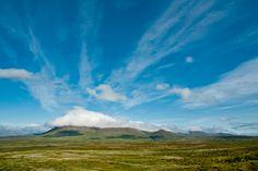 Ein wunderschöner Himmel über Island im Sommer 2014.