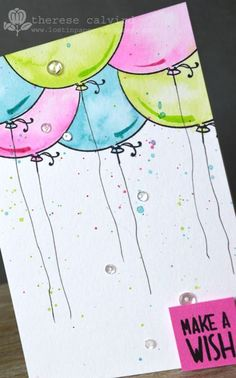 Video : Finding Inspiration By Request – Watercoloured Balloons! | Lostinpaper | Bloglovin'
