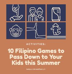 A lot of our culture is distilled in the games we played as kids, so here are 10 Filipino games you can pass on to your kids! Hand Clapping Games, Hand Games, Games For Kids, Games To Play, Western Games, Philippines Culture, Filipino, Teacher Stuff, Teaching Kids