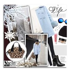 """City Life...SheIn"" by melissa-de-souza ❤ liked on Polyvore featuring URBAN ZEN, Lancôme, Camellia, Revo, Accessorize, Bling Jewelry, Arbonne, Sheinside and polyvoreeditorial"