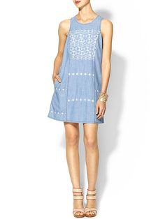 As you can see I have a lot of embroidered dresses like this pinned. I love them. Especially in colors that will work for fall.