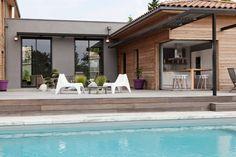 villa contemporaine en bois par Damien Carreres - Lyon, France   Construire Tendance