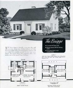 Sears Fulton 1940 American Colonial Vintage House
