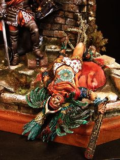 "death of montezuma | Historicus Forma :: ""The death of Montezuma"" - 75mm vigniette"