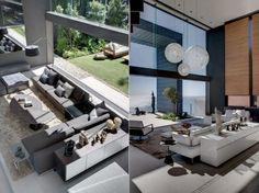Neutral contemporary interior design