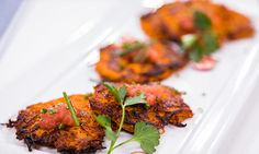 #CountdowntoChristmas @HomeandFamilyTV Recipes - Moll Anderson's Sweet Potato Latkes