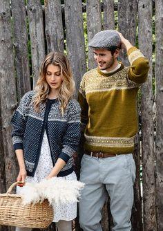 Theme 59 - No. 2 - Sweater for men w/set in sleeves, knitted in Tynn Alpakka Ull Baby Alpaca, Alpaca Wool, Knitting Yarn, Knitting Patterns, Knitting Designs, Big Knits, Seed Stitch, Crochet Patterns For Beginners, Mulberry Silk
