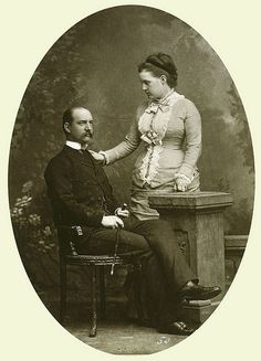 KING GEORGE I AND QUEEN OLGA OF THE HELLENES   Flickr - Photo Sharing!