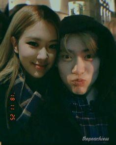 Rose Daily life Jaehyun with Rose # Fiksi penggemar # amreading # books # wattpad Bts Aesthetic Pictures, Couple Aesthetic, Kpop Couples, Cute Couples, Foto Rose, Jung Chaeyeon, Exo Couple, Blackpink Memes, Felix Stray Kids