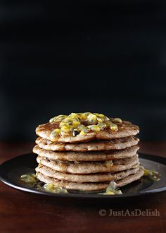 Buckwheat and Oat Pancakes (Gluten and Dairy Free)