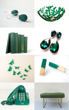 Emerald Green - Pantone Color Of the Year