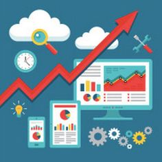 Illustration about SEO (Search Engine Optimization) Programming - Business Up-Trend - Vector Illustration for presentation, booklet, web site etc. Illustration of graph, graphic, cloud - 41247865 Website Optimization, Search Engine Optimization, Six Sigma Tools, Top Search Engines, Process Improvement, Apps, Google Analytics, Marketing Techniques, App Development Companies