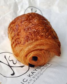 Pain au Chocolat and other flaky French breakfast pastries