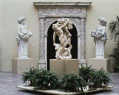 black-bubble: Pietro Bernini—Figures of Flora and Priapus, 1616 Originally in the gardens of the Villa Borghese, Rome