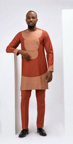 fm_fashion_and_style mendesigner menswear menrock menfashion naijaparty naijao African Wear Styles For Men, African Shirts For Men, African Dresses Men, African Attire For Men, African Clothing For Men, Fashion Joggers, Suit Fashion, Mens Fashion, Nigerian Men Fashion