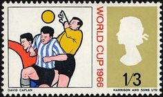 World Cup Postage Stamp, Great Britain - 1966