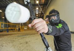 Folks hunger for Archery Tag after success of popular movie franchise: Business owners Archery Tag, Franchise Business, Popular Movies, Success, Indoor, News, Beach, Interior, Seaside