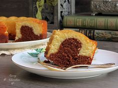 Bizcocho de mascarpone y chocolate – Mascarpone and chocolate bundt cake