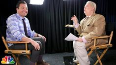 """""""Talk of the Town"""" with Jiminy Glick and Jimmy Fallon"""