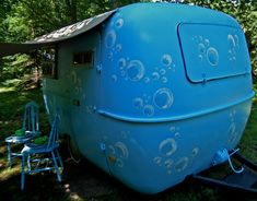 Bubbles boler.... just need to add a bubble machine... and down the by ways of life...forever blowing bubbles...