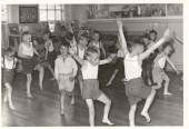 Music and Movement - BBC radio programme for schools. Oh God! We had to wear knickers and vest!