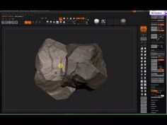Zbrush Rock sculpting