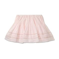 Lace Skirt, SHEER PINK - Lace Skirt