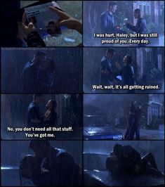 I understand if some people want to un follow me lol I'm on a bit of a one tree hill kick... Always haha